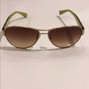 Coach 9005/13 Gold/Tortoise Signature Sunglasses